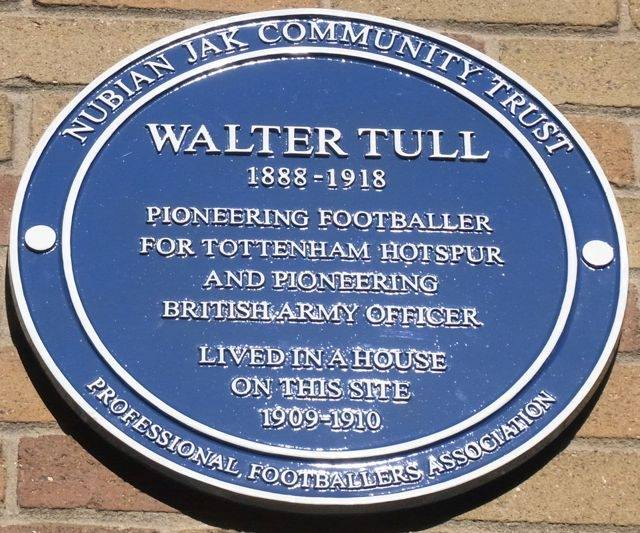 Walter Tull Blue Plaque