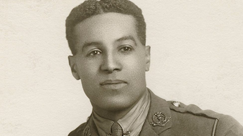 Walter Tull Officer