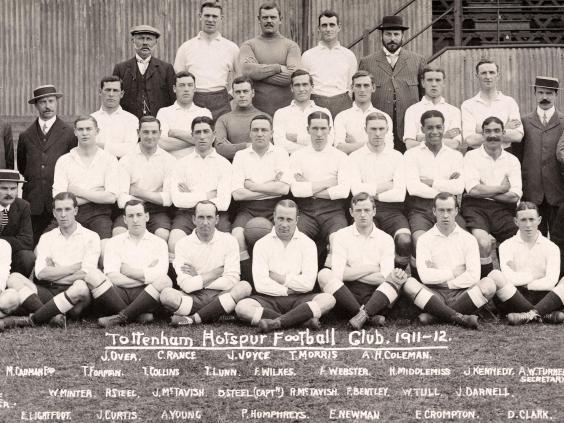 Walter Tull Tottenham Hotspur